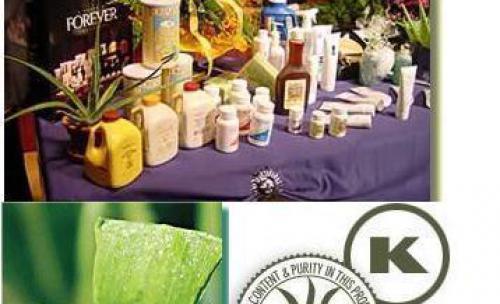 Productos naturales de aloe vera 100%