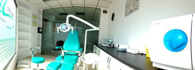 Sala de tratamiento y esterilización.
